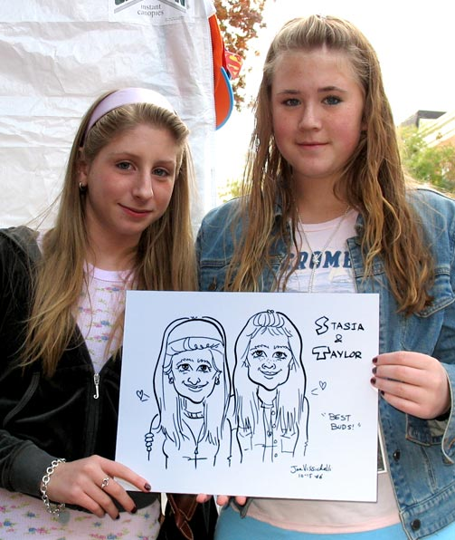Event Caricature Art Nassau County OysterFest