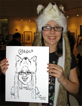 Public Event Caricature Art Suffolk County