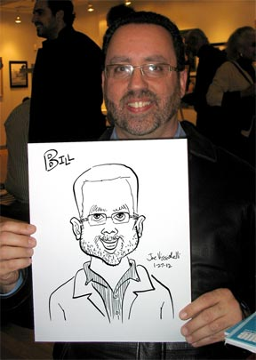 Suffolk Long Island Caricature Artist Party Art
