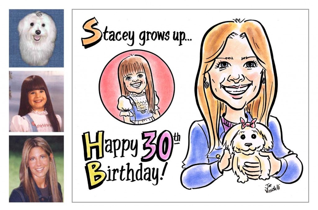 Custom Caricatures from Photos Long Island NY