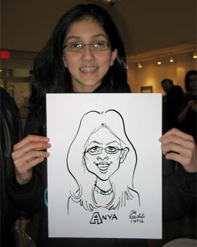 Long Island Suffolk Events Caricature Artist Work
