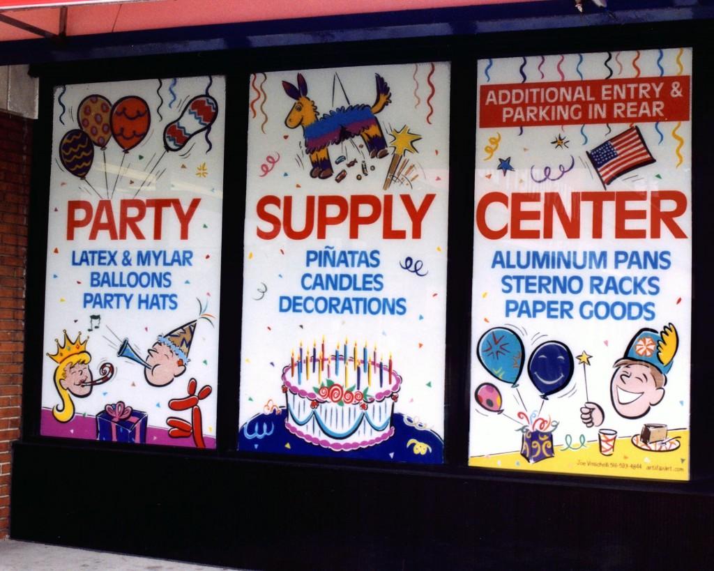 Window Signage & Murals in Nassau County, LI
