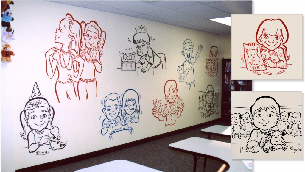 Commercial Wall Mural on Long Island