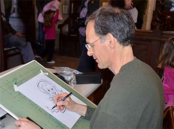 Caricature Artist Work for Planting Fields Foundation Nassau County
