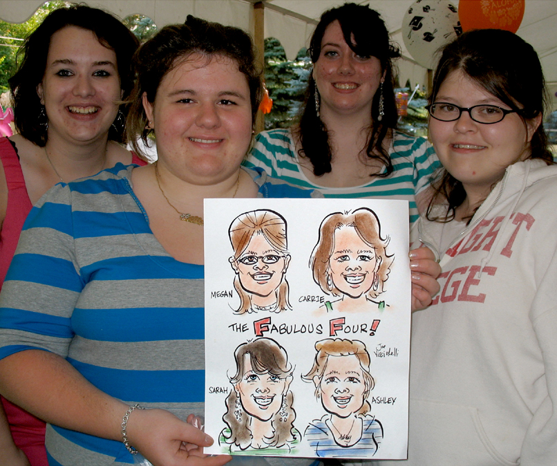 Bronx NY Party Caricature Artist Event
