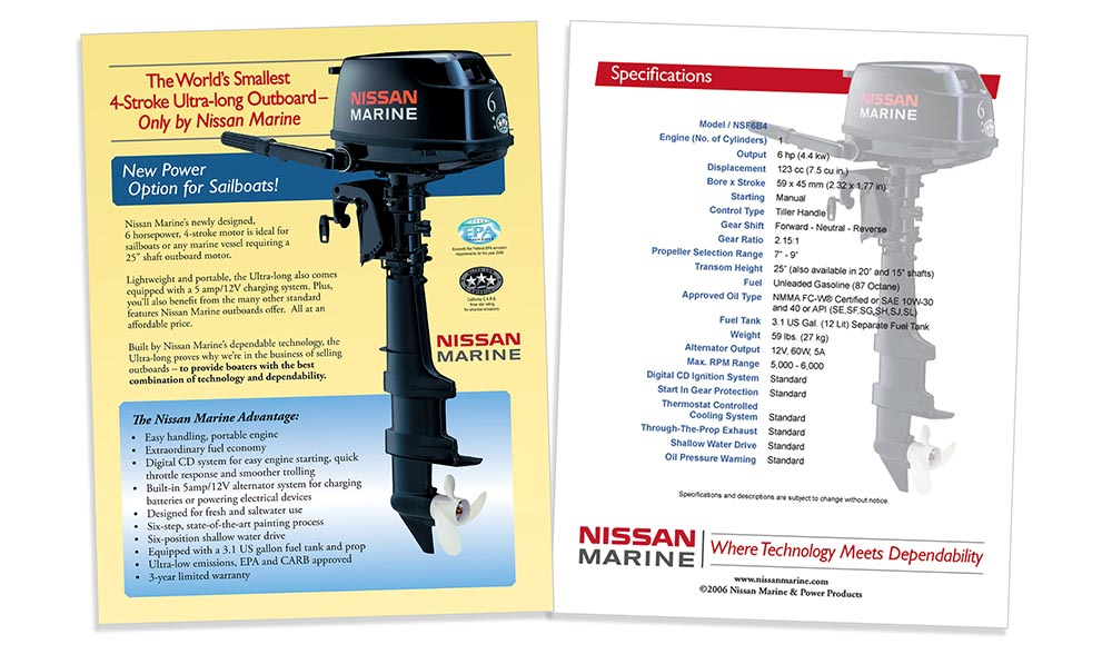Product Sheet Design for NYC Corporation