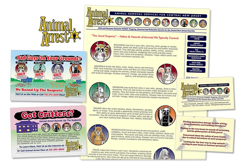 New York Corporate Brochure Graphic Artist