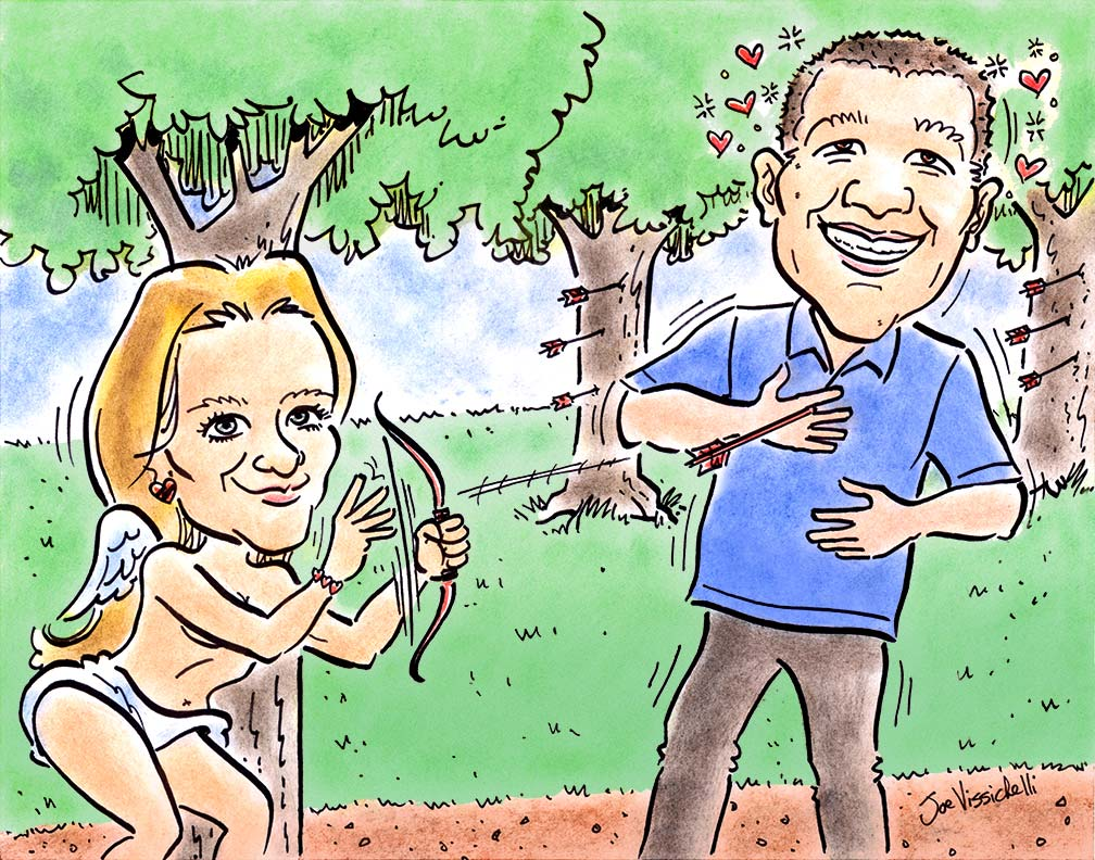 Gift Caricatures from Photos Nassau County NY