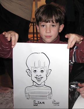 Westchester NY Party Caricature Art