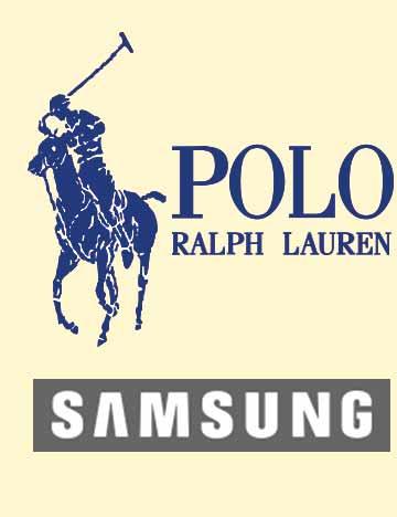 Corporate Events Entertainment Client Logos: Polo Ralph Lauren & Samsung